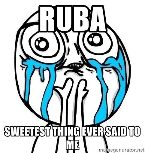 CuteGuy - ruba sweetest thing ever said to me