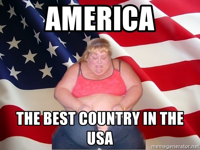 Asinine America - america the best country in the usa