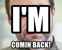 Jimmy Wales - i'm                 COMIN BACK!