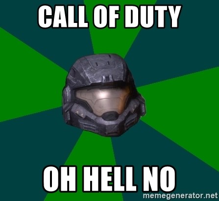 Halo Reach - Call of duty oh hell no