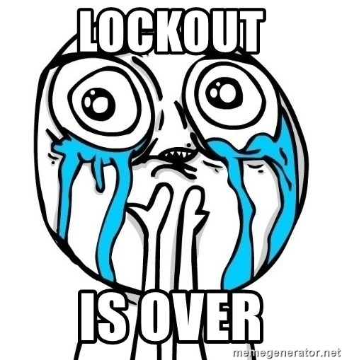 CuteGuy - Lockout is over