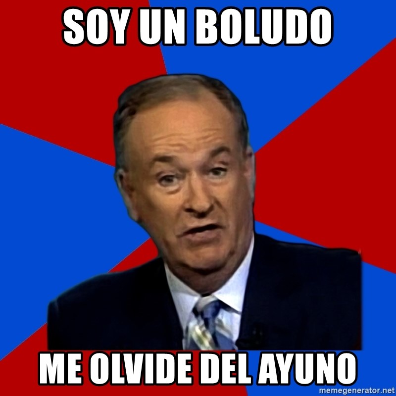 Bill O'Reilly Proves God - soy un boludo me olvide del ayuno
