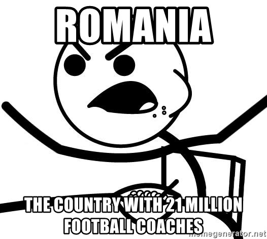 Cereal Guy Angry - Romania   The country with 21 million football coaches