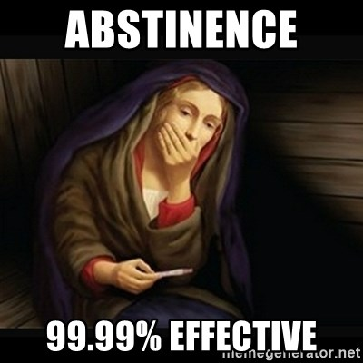 Mary Pregnancy Test - ABSTINENCE  99.99% Effective