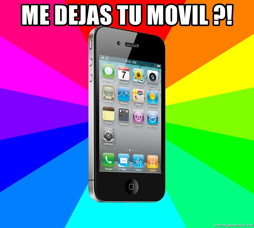 TYPICAL IPHONE - Me dejas tu movil ?!