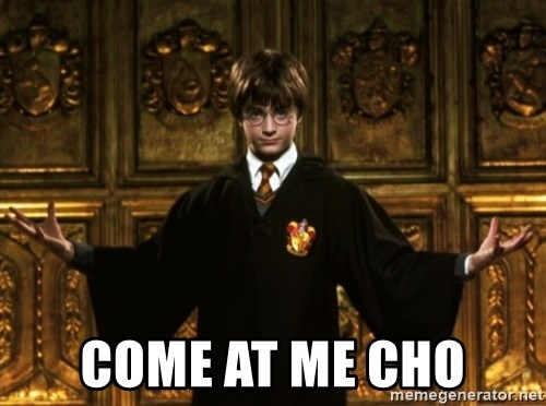 Harry Potter Come At Me Bro - Come AT ME CHO