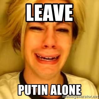 You Leave Jack Burton Alone - leave putin alone