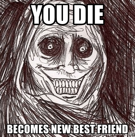 Horrifying Ghost - YOU die becomes new best friend
