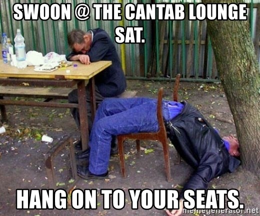 drunk - Swoon @ the cantab lounge sat. Hang on to your seats.
