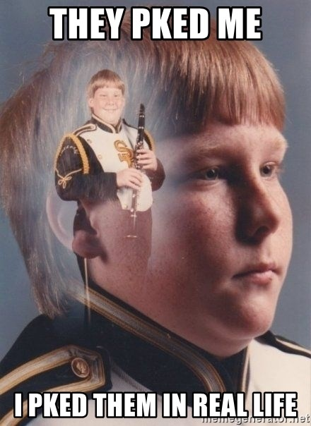 PTSD Clarinet Boy - They pked me  I pked them in real life