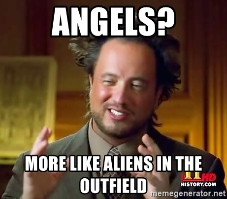 Ancient Aliens - ANGELS? More LIke ALIENS in the outfield