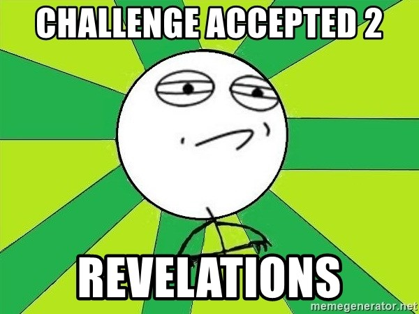 Challenge Accepted 2 - Challenge Accepted 2 revelations