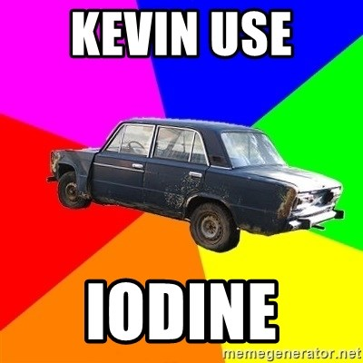 AdviceCar - Kevin use  Iodine