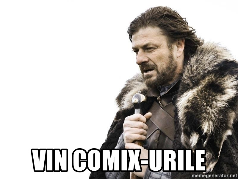Winter is Coming - VIN COMIX-urile