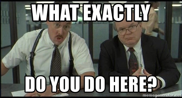 Office space - what exactly do you do here?