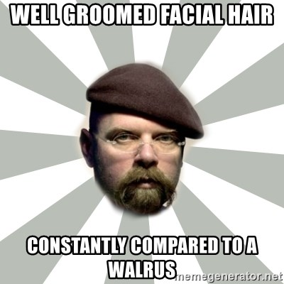 Jamie Hyneman - Well groomed facial hair constantly compared to a walrus