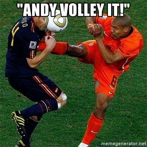 """Netherlands - """"andy volley it!"""""""