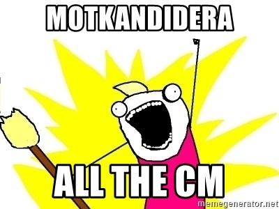 X ALL THE THINGS - Motkandidera All the CM