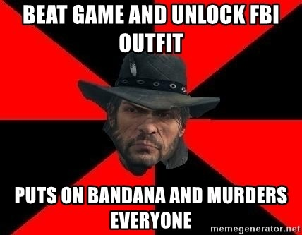 Beat Game And Unlock Fbi Outfit Puts On Bandana And Murders
