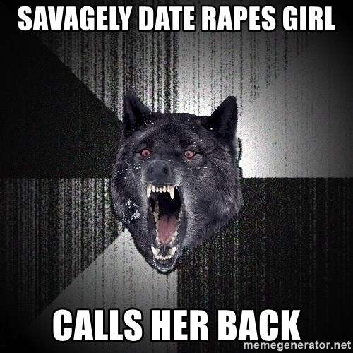 Insanity Wolf - savagely Date rapes girl calls her back