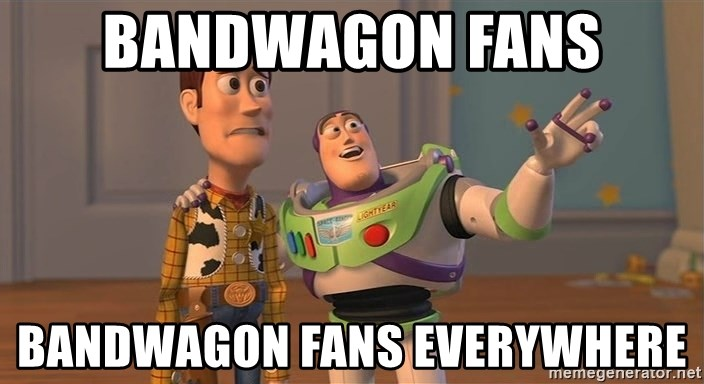 Toy Story Everywhere - Bandwagon Fans Bandwagon Fans Everywhere