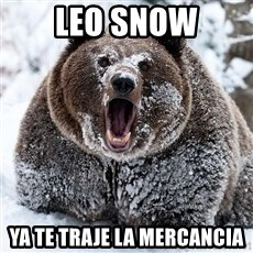 Cocaine Bear - LEO SNOW Ya te traje la mercancia