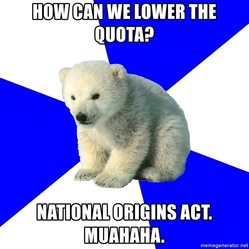 what was the national origins act