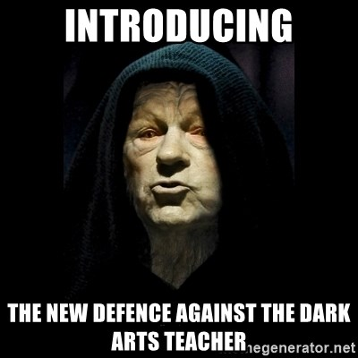 Introducing The New Defence Against The Dark Arts Teacher