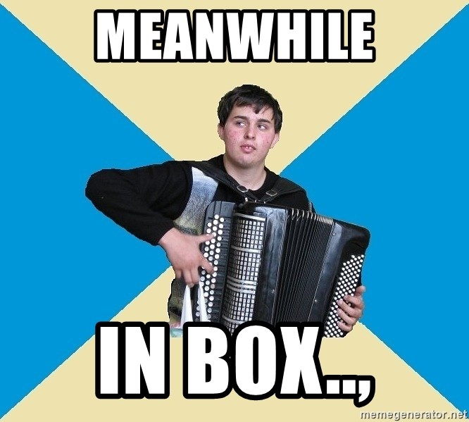 X The Musical Student X - MeanWhile in box..,
