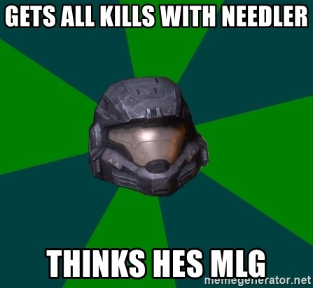 Halo Reach - gets all kills with needler thinks hes mlg