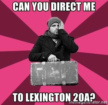 potential emigrant - can you direct me to lexington 20a?