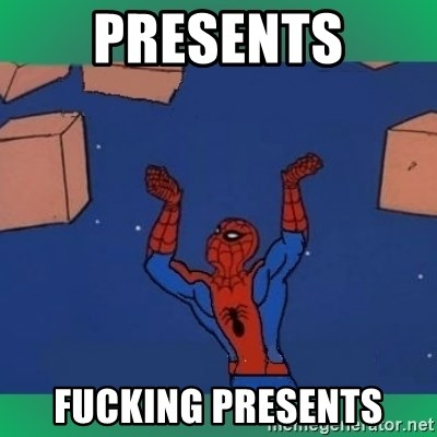 60's spiderman - PRESENTS FUCKING PRESENTS