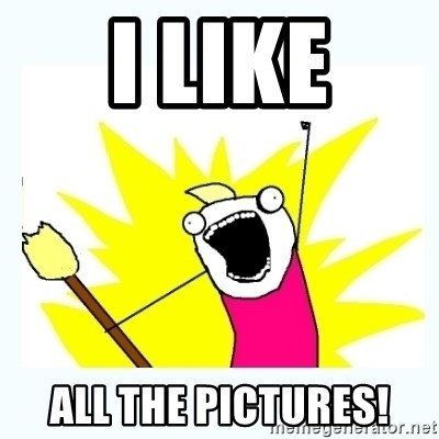 All the things - i like all the pictures!