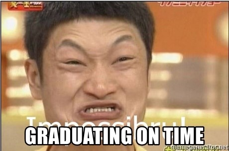 Impossibru Guy - Graduating on time