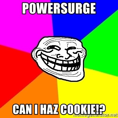 troll face1 - p0wersurge can i haz cookie!?