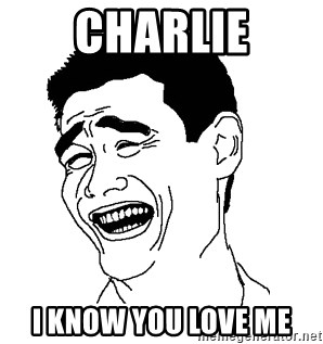 Asian Troll Face - charlie i know you love me