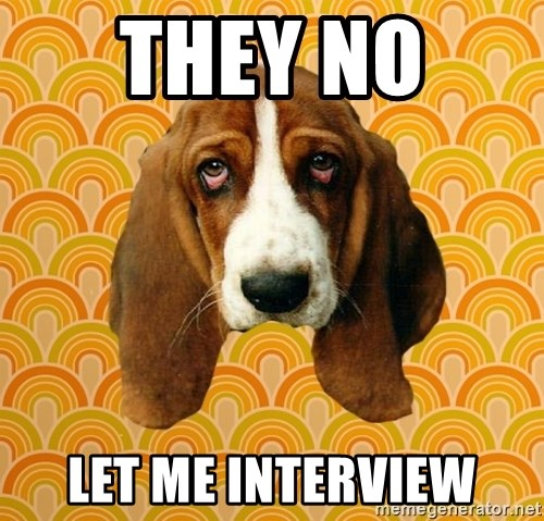 SAD DOG - THEY NO  LET ME INTERVIEW