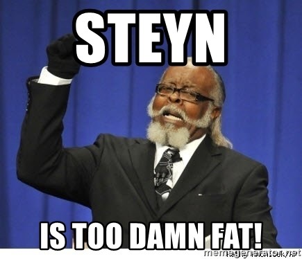 The tolerance is to damn high! - steyn  is too damn fat!
