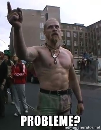 Techno Viking - probleme?