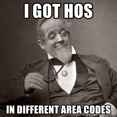 1889 [10] guy - i got hos in different area codes