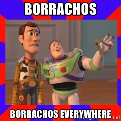 Everywhere - Borrachos borrachos everywhere