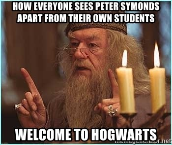dumbledore fingers - How everyone sees peter symonds apart from their own students Welcome to hogwarts