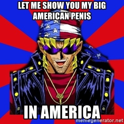 bandit keith - Let me show you my big american penis in america