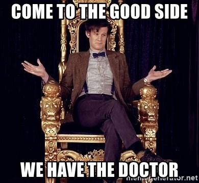 Hipster Doctor Who - Come to the good side  We have the Doctor