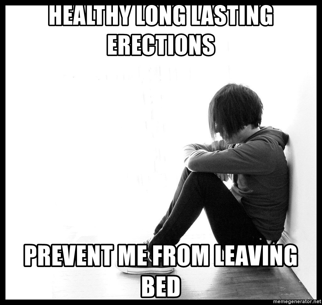 First World Problems - Healthy long lasting erections Prevent me from leaving bed