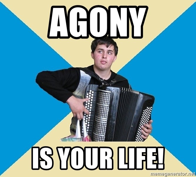 X The Musical Student X - Agony is your life!