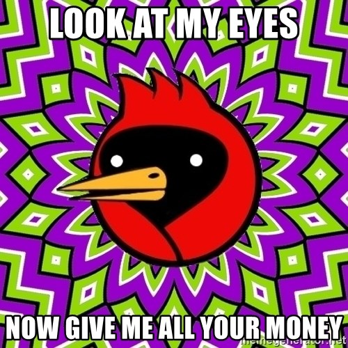 Omsk Crow - Look at my eyes now give me all your money