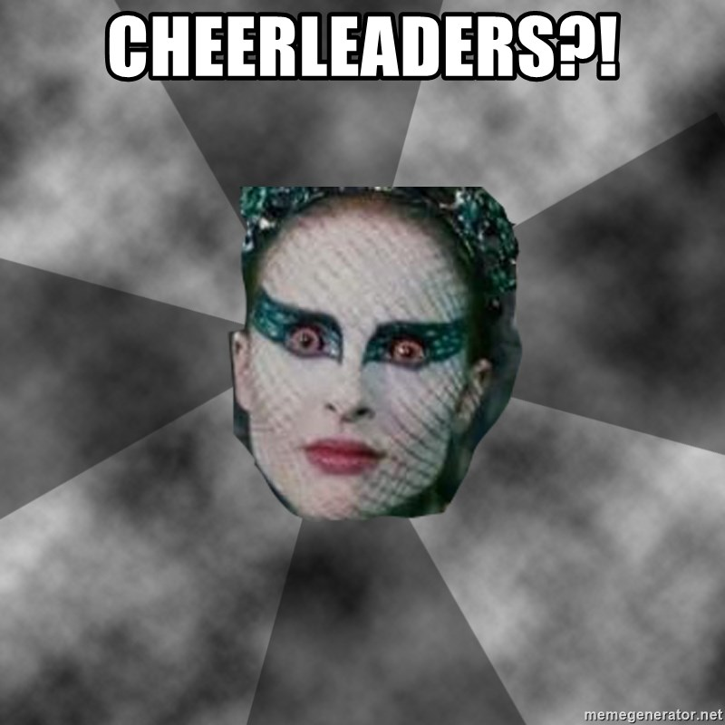 Black Swan Eyes - cheerleaders?!