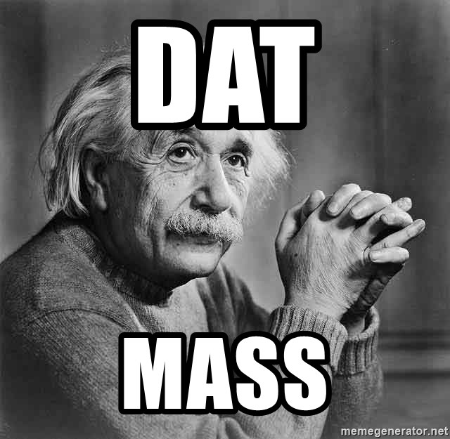 Albert Einstein - dat mass