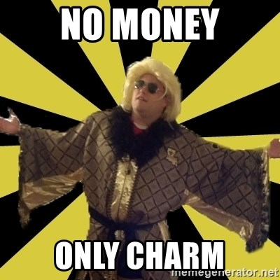Party Foul Flair - no money only charm